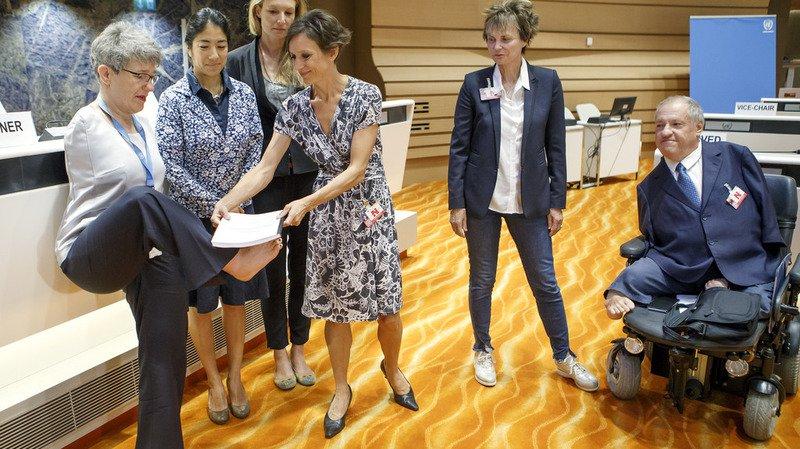 Personnes handicapées: les ONG critiquent la Suisse à l'ONU