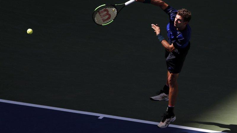 US Open: Laaksonen éliminé au premier tour par Del Potro