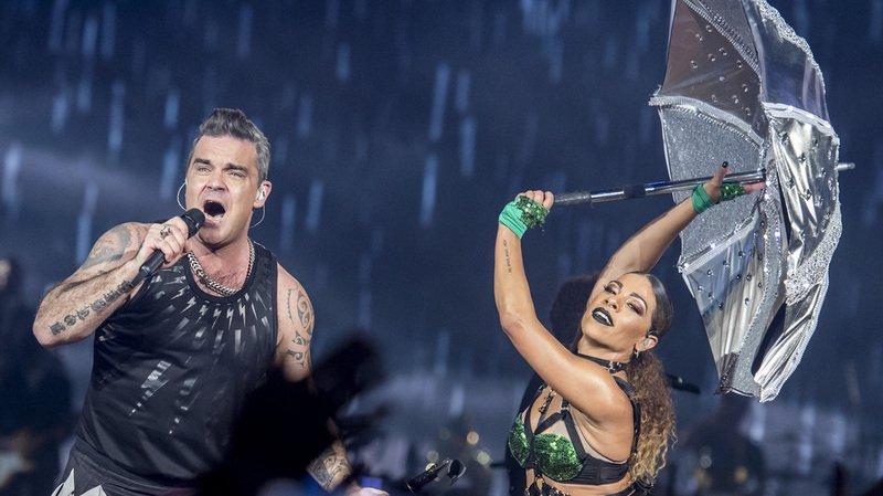Concert: Robbie Williams a fait le show devant 45'000 fans à Zurich