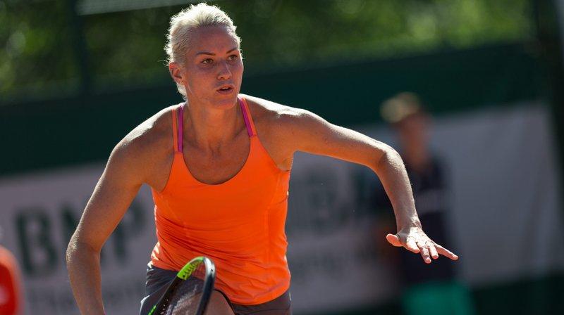 Conny Perrin n'a pas franchi le cap du premier tour des qualifications à Roland-Garros.