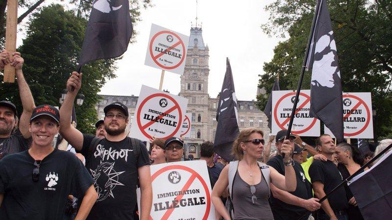 L'arrivée des migrants réveille l'extrême droite au Canada