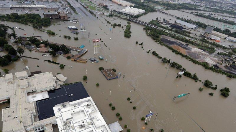 Un site de la Nasa sous l'eau à Houston