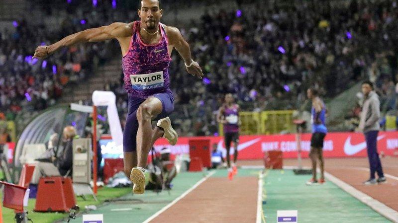 L'Américain Christian Taylor a remporté une sixième Ligue de diamant d'affilée au triple saut, hier à Bruxelles.