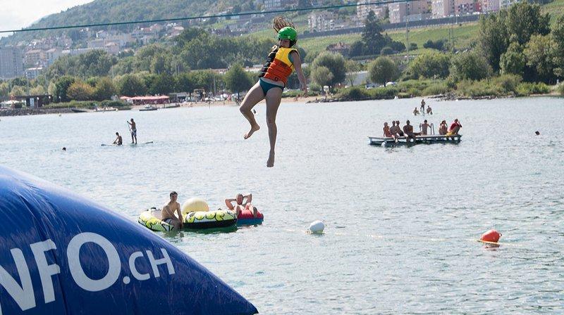 Un bilan mitigé pour le Watt Air Jump festival                                                                                                                                             de Saint-Blaise