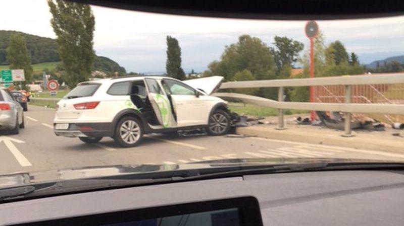 Un accident sur le pont de Thielle provoque de forts ralentissements