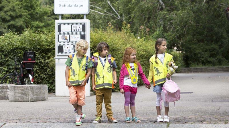 Rentrée scolaire: prudence sur le chemin de l'école