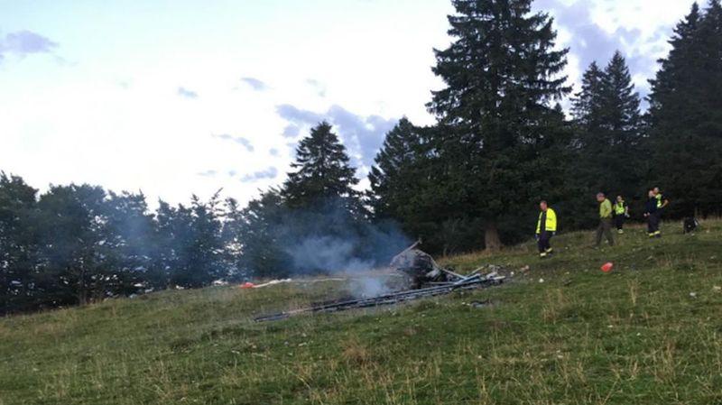 Deux morts dans le crash d'un ULM à proximité du Creux-du-Van