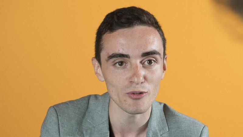 Nicolas Jutzet, vice-président des jeunes libéraux radicaux neuchâtelois