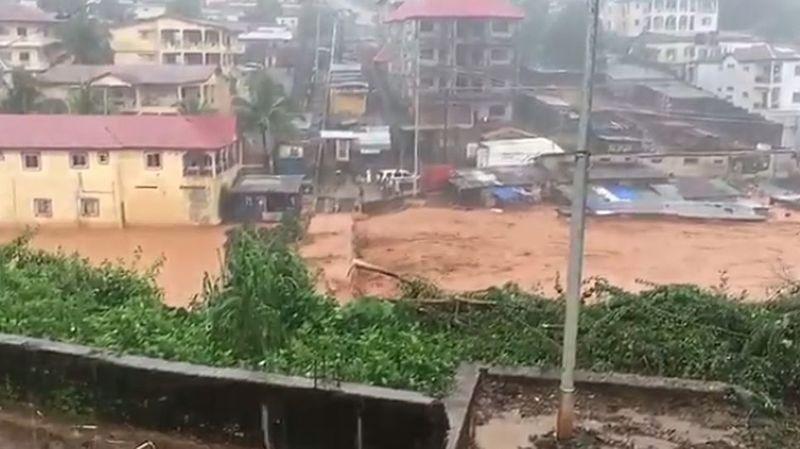 Sierra Leone: des coulées de boue font 312 morts à Freetown