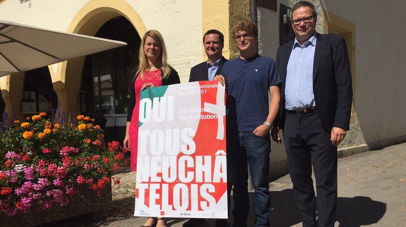 Votations cantonales: les entreprises neuchâteloises disent oui à la réforme des institutions