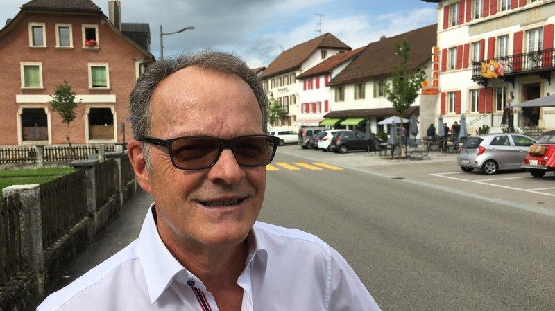 Claude Kilcher est candidat à la mairie du Noirmont.
