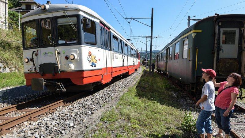 Voilà 7 mois les trains ne circulent plus entre le Locle et les Brenets.