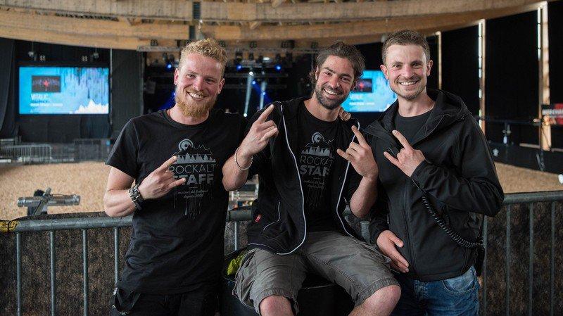 Trois frangins loclois s'investissent corps et âmes pour le Rock Altitude