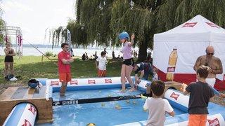 Acrobranche et boxe thaïe au 19e Festival des sports de Neuchâtel