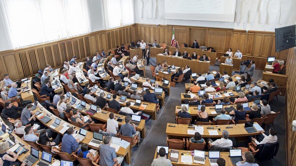 Dès 2021, le Grand Conseil comptera 100 députés au lieu de 115 actuellement.