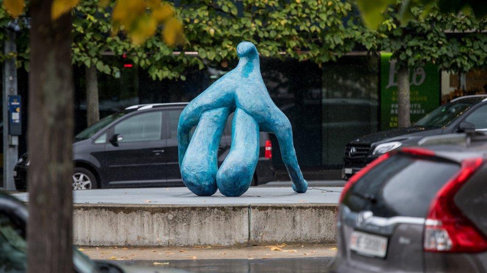 La sculpture déchaîne les passions.