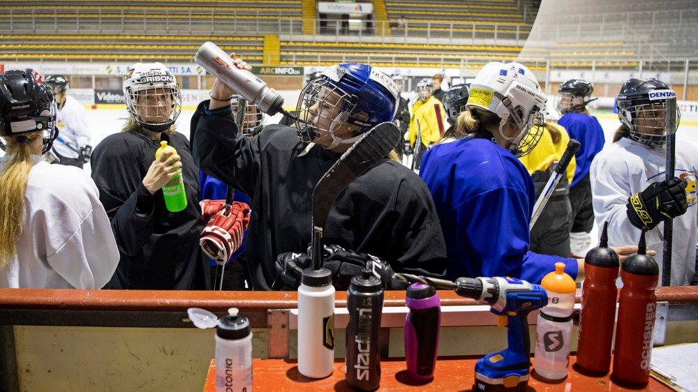 Les filles de la Neuchâtel Hockey Academy débuteront leur championnat par deux rencontres à domicile.