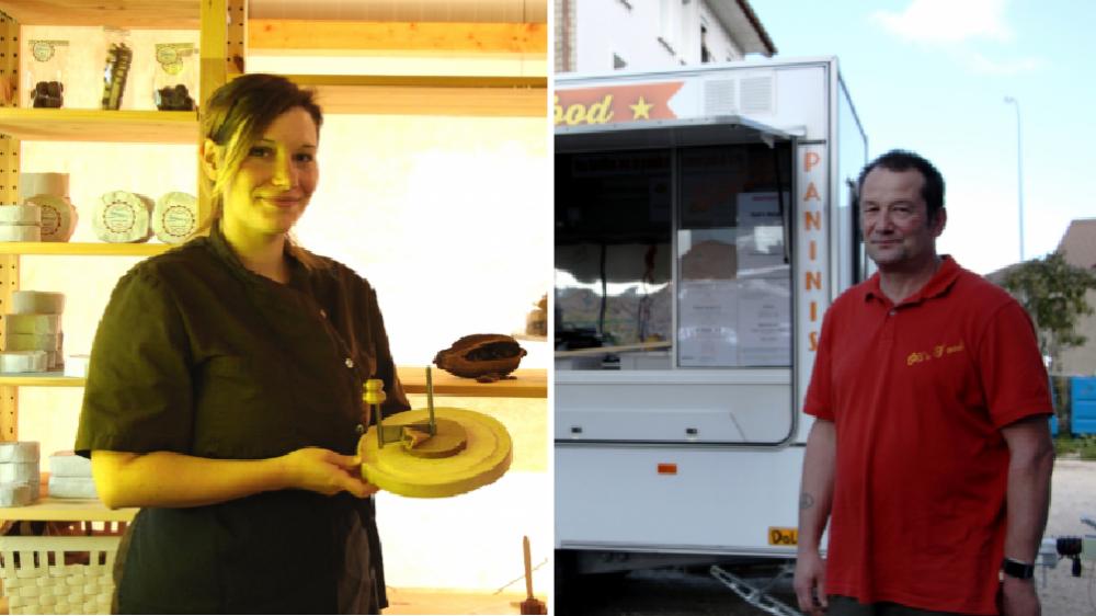 Audrey Steck et Olivier Erard participent tous deux  à la 7e édition du concours suisse des produits du terroir.