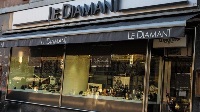 La Chaux-de-Fonds: l'une des deux victimes du braquage de la bijouterie Le Diamant enfin indemnisée