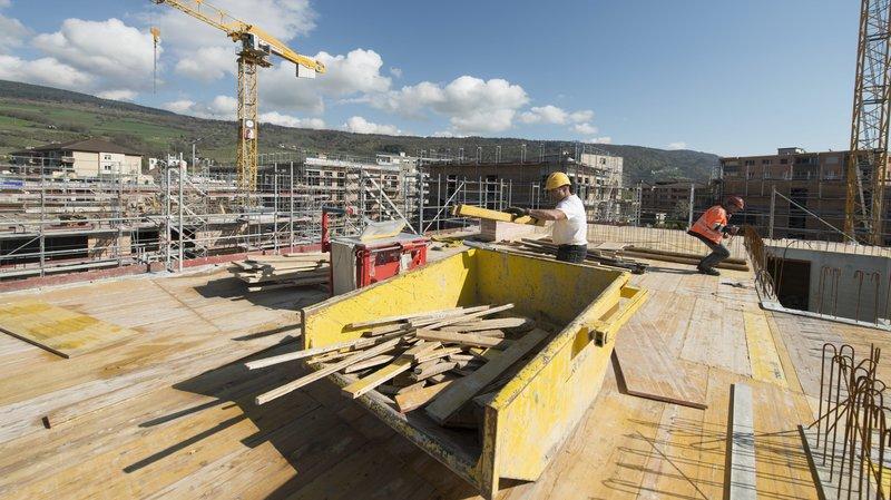 La construction de nouveau logements – ici au Landeron – est venue doper l'offre.