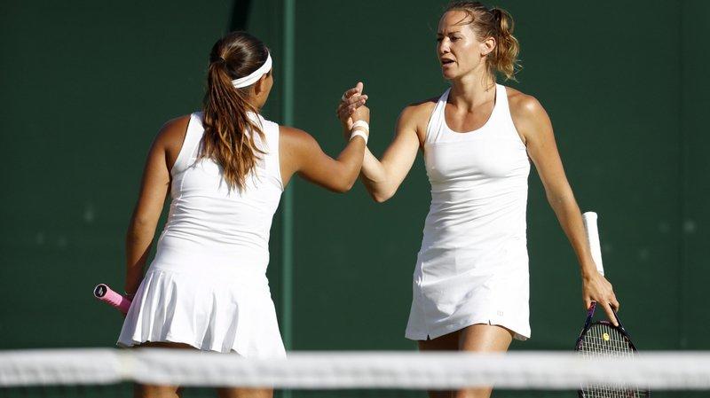 Conny Perrin et Tara Moore remportent un titre en double