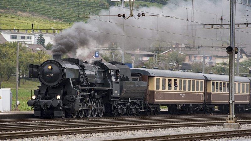 Cure de jouvence pour la locomotive vedette du Vapeur Val-de-Travers