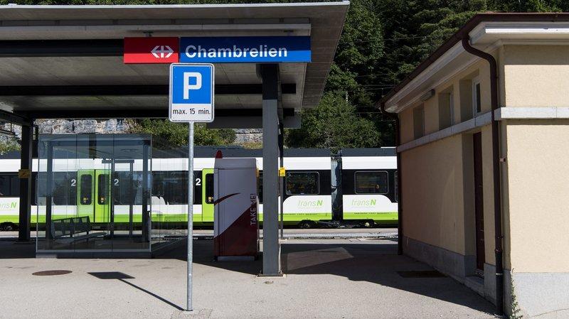 Berne soutient l'évitement de Chambrelien, pas (encore) la ligne directe entre Neuchâtel et La Chaux-de-Fonds