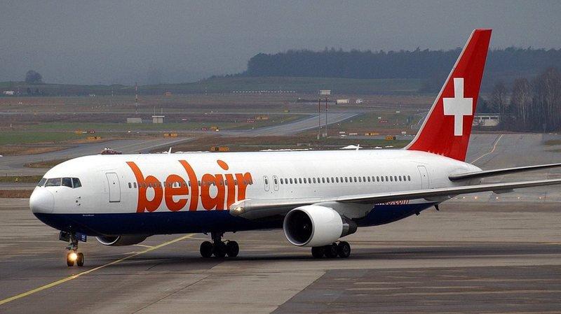 Belair appartient à la compagnie disparue Air Berlin.