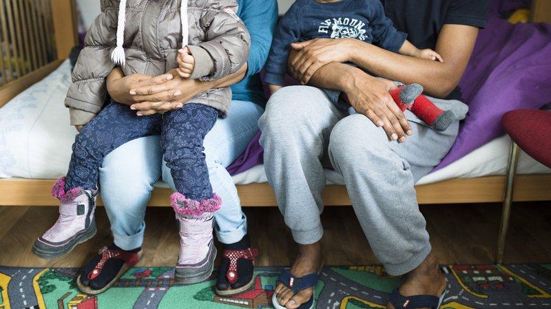 Les réfugiés sont moins nombreux en Suisse.