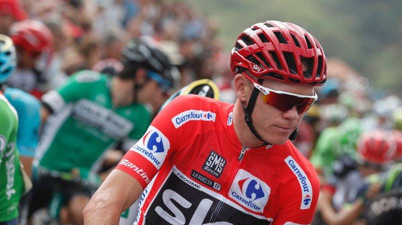 Tour d'Espagne: Chris Froome, en meilleure forme, distance Nibali sur la 18e étape de la Vuelta