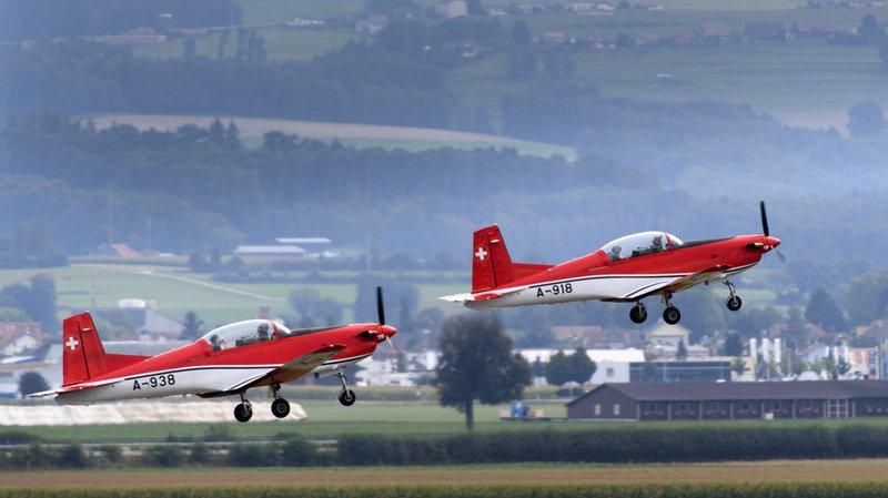 Armée: un PC-7 des forces aériennes suisses disparaît des radars