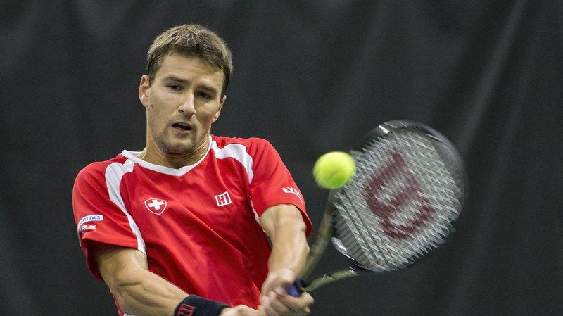 Tennis: Chiudinelli remporte le dernier simple de Coupe Davis, la Suisse se maintient dans le groupe mondial