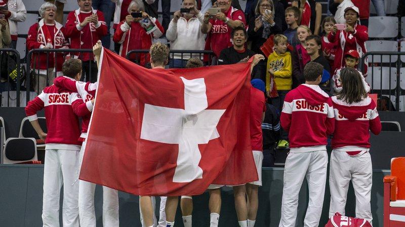 Coupe Davis: les joueurs suisses iront au Kazakhstan pour leur premier tour