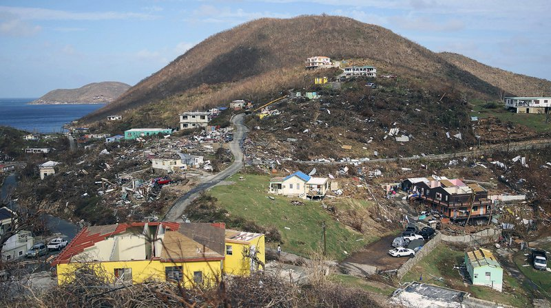 Ouragan Maria: un mort à Porto Rico et neuf dans les Antilles