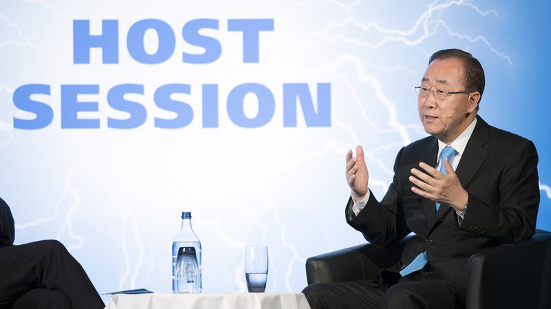 "Ban Ki Moon: Donald Trump sera ""du mauvais côté de l'Histoire"" si les États-Unis se retirent de l'accord de Paris"