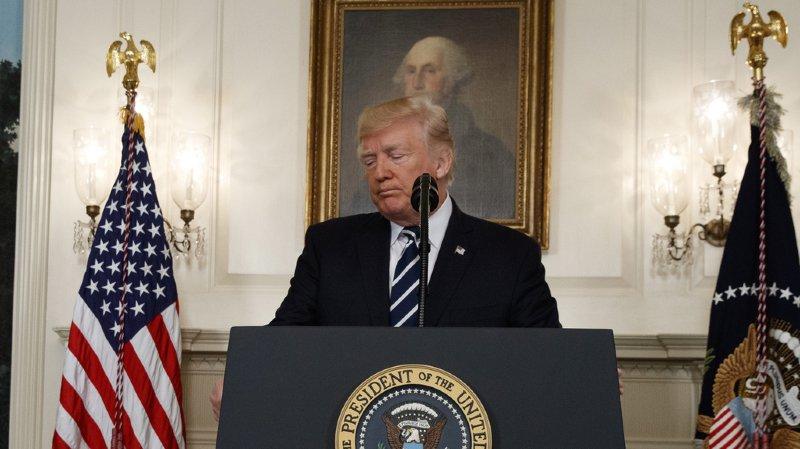Fusillade de Las Vegas: Donald Trump remet le débat sur les armes à plus tard
