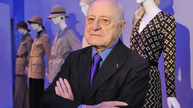 Pierre Bergé, ici en 2010, était également un militant de la cause gay et un fervent soutien de l'ancien président socialiste français François Mitterrand.