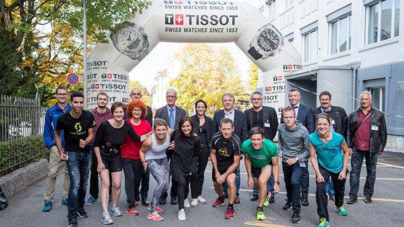 La dixième Trotteuse-Tissot relie les deux villes du Haut
