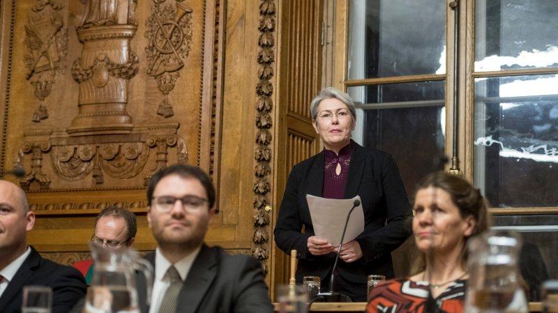 Anne-Françoise Loup succède à Olivier Arni au Conseil communal de Neuchâtel