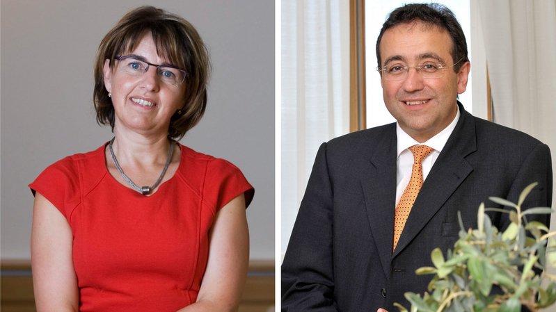 Votations neuchâteloises: l'analyse du Vaudois Broulis et de la Jurassienne Baume-Schneider
