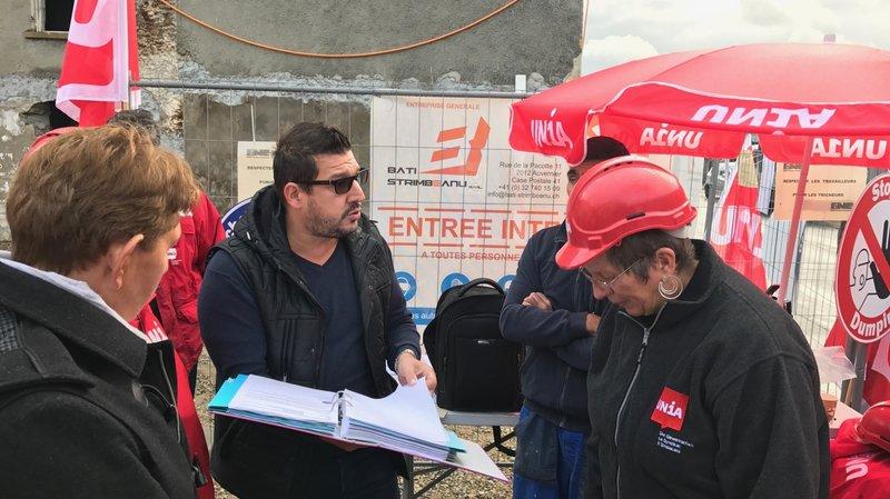 Unia et les entrepreneurs neuchâtelois dénoncent une entreprise accusée de dumping salarial