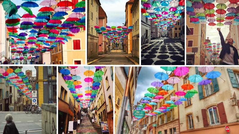 Les parapluies d'Olá Portugal ont la cote sur Instagram
