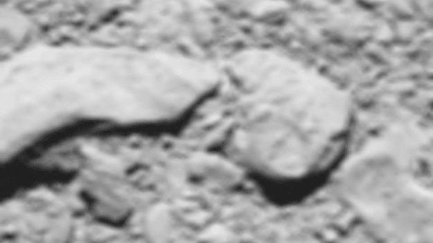 Astronomie: l'ultime photo de la sonde Rosetta avant le crash sur la comète Tchouri a été publiée