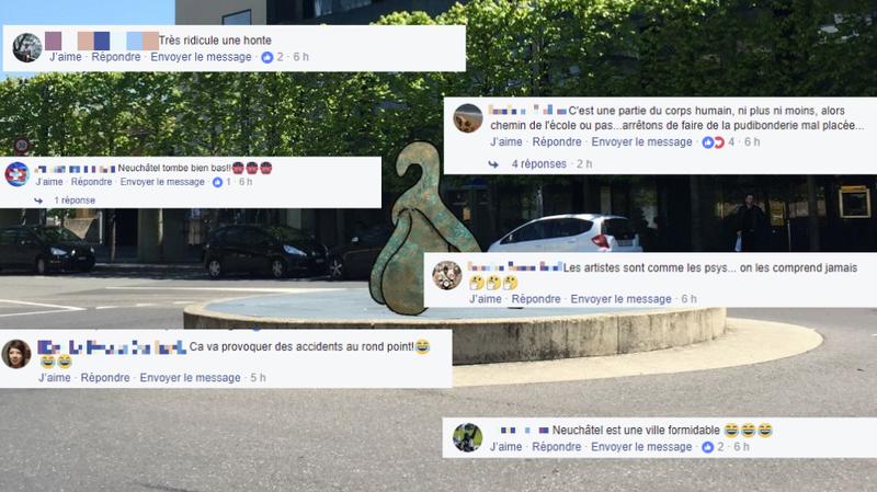 La statue de clitoris prévue devant la gare de Neuchâtel vous fait réagir