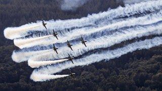 Sion Air Show: la journée de vendredi en images