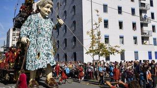Genève: la Saga des géants en images