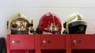 Intervention des pompiers de Cortaillod pour un feu de container à Colombier
