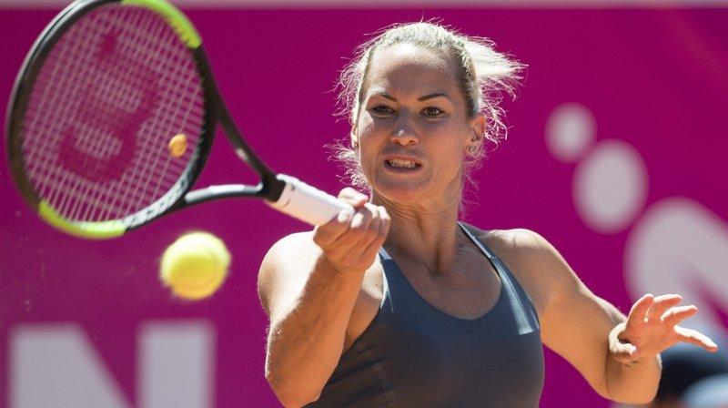 Conny Perrin a dominé Ana Sanchez en deux sets.