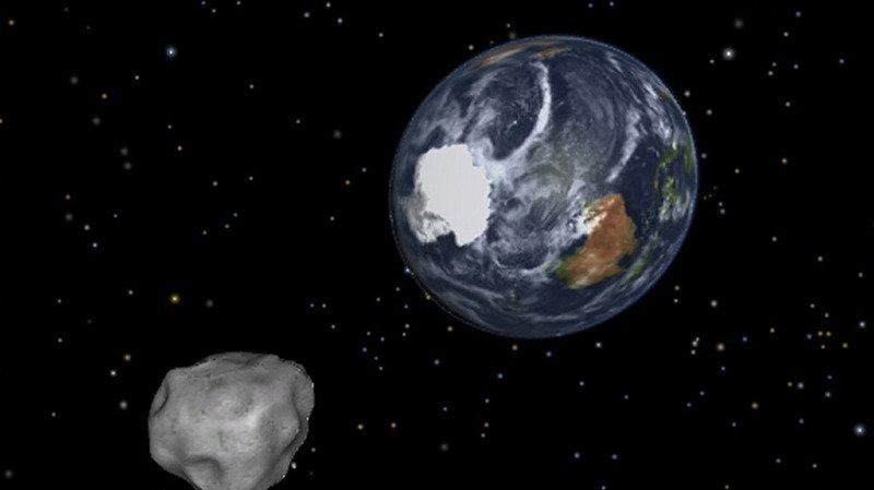 L'astéroïde n'a présenté aucun risque pour la Terre. Mais il a été surveillé de près par les agences spatiales (illustration).