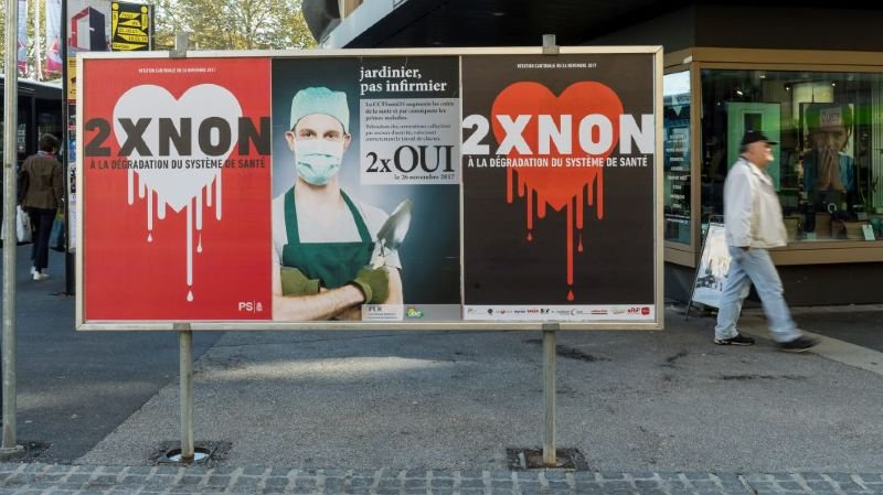 Laurent Kurth choqué par le début de campagne de votation sur la CCT santé 21